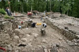 cugnano lo scavo di un ambiente