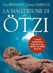 Copertina del libro La maledizione di Otzi